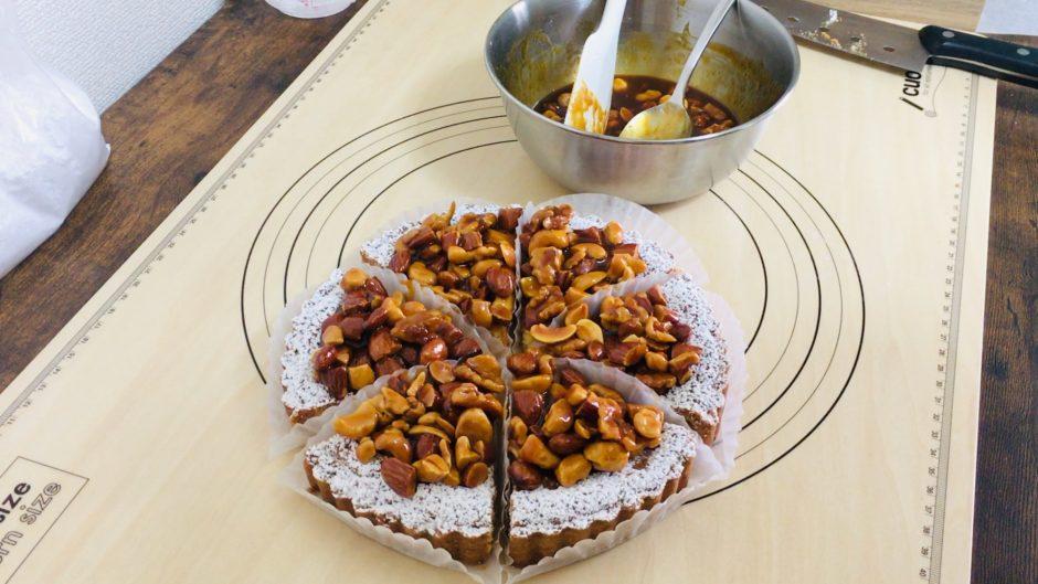 キャラメルナッツのタルトアイキャッチ